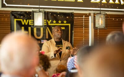 Wesley Hunt Delivers Passionate Speech at Grassroots Campaign Launch