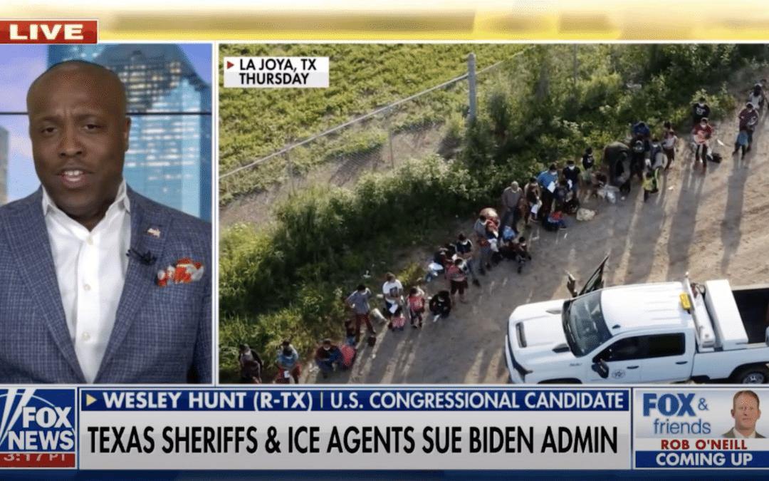 Hunt Speaks Out on Border Crisis