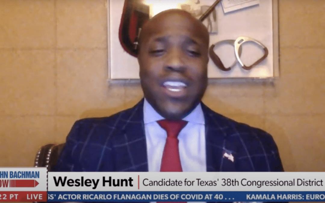 Wesley Hunt joins Newsmax   John Bachmann Now